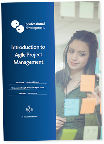 Introduction to Agile Project Management Course Brochure